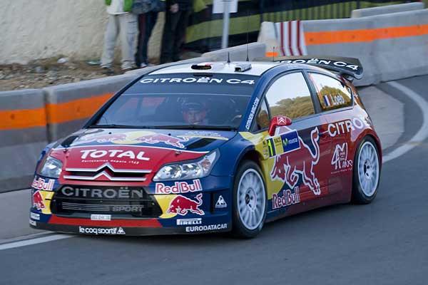 C4 WRC de Sébastien Loeb